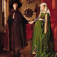 """... Jan Van Eyck """" les époux Arnolfini """""""