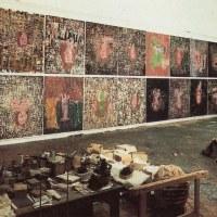 ... l'atelier de Georg Baselitz