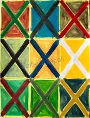 D'après Jasper Johns