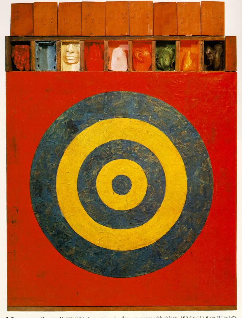 Jasper Johns - la cible - target