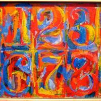 """Jasper Johns  """" la cible """" ( target )"""