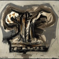 "Antonio SAURA : ""Autoportrait"""