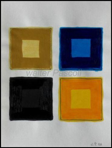 peintures géométriques