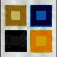 Peintures géométriques / Geometric paintings ...