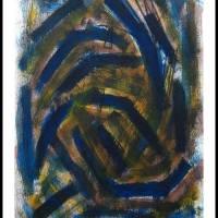Blue monday / Painting .